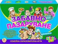 Забавно пазаруване - Семейна образователна игра -