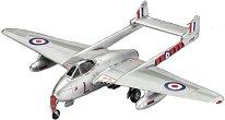 Британски изтребител - Vampire F Mk.3 - Сглобяем авиомодел -