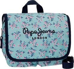 """Комплект от козметична чанта и два несесера - От серията """"Pepe Jeans: Denise"""" -"""