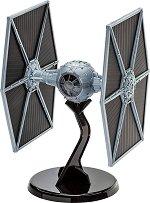 "Имперски космически изтребител - TIE Fighter - 40th Anniversary Edition - Сглобяем модел от серията ""Revell: Star Wars"" - комплект с лепило и боички -"