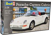 Спортен автомобил - Porsche Carrera Cabrio - Сглобяем модел -