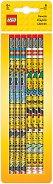 Графитни моливи - LEGO Iconic - Комплект от 6 броя -