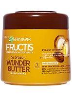 Garnier Fructis Oil Repair 3 Wonder Butter 3 in 1 Mask - Подхранваща маска за много суха и изтощена коса - четка