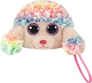 """Плюшено портмоне - Кученце Rainbow - От серията """"Beanie Boos"""" - играчка"""