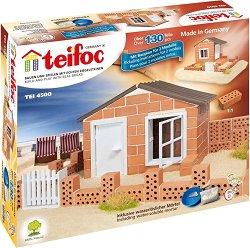 """Лятна вила - 2 в 1 - Детски сглобяем модел от истински тухлички от серията """"Teifoc: Classic"""" -"""