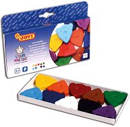 Восъчни пастели - Комплект от 10 цвята