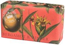 English Soap Company Bergamot & Ginger - Луксозен сапун с аромат на бергамот и джинджифил -