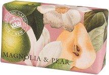 English Soap Company Magnolia & Pear - Лускозен сапун с аромат на магнолия и круша - продукт