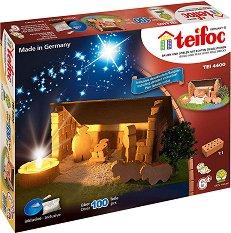 """Рождество Христово - Детски сглобяем модел от истински тухлички от серията """"Teifoc: Classic"""" -"""