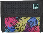 Портмоне - Coloured Feathers - Комплект със силиконови елементи за декориране -