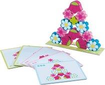 Магически цветя - Образователна играчка за сортиране -