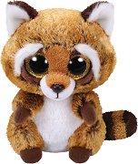 """Енот - Rusty - Плюшена играчка от серията """"Beanie Boos"""" - играчка"""