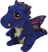 """Дракон - Safire - Плюшена играчка от серията """"Beanie Boos"""" -"""