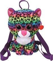 """Плюшена раница за детска градина - Леопард Dotty - От серията """"Gear"""" -"""
