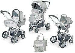 Бебешка количка 3 в 1 - Festival - С 4 колела -