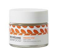 """Bio:Vegane Skinfood Organic Goji Day Care - Дневен крем за лице за взискателна кожа с био годжи бери от серията """"Organic Goji"""" - маска"""