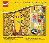 Ученически пособия с мини фигурка - LEGO Iconic - Комплект от 8 части