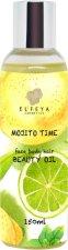 Elfeya Cosmetics Mojito Time - Успокояващо масло за тяло с лимон и мента за всеки тип кожа - душ гел
