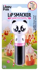 Lip Smacker Lippy Pals - Panda - Балсам за устни с аромат на пухкав крем -