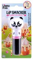 Lip Smacker Lippy Pals - Panda - Балсам за устни с аромат на пухкав крем - балсам