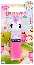 Lip Smacker Lippy Pals - Unicorn - Балсам за устни с вкусен аромат - ластик