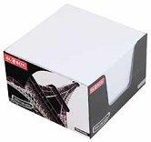 Бяло хартиено кубче - Със 700 квадратни листчета с размери 8 x 8 cm