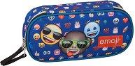 Ученически несесер - Emoji Three Friends -