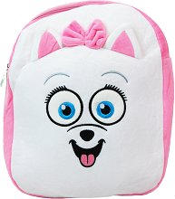Детска плюшена раница - Гиджет - играчка