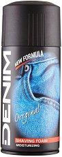 """Denim Original Shaving Foam - Пяна за бръснене от серията """"Original"""" -"""