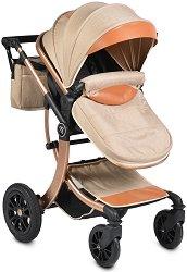 Комбинирана бебешка количка - Sofie - С 4 колела -