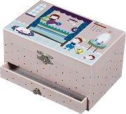 Музикална кутия за бижута - Принцеса Нинон и принцът -