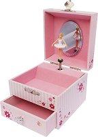 Музикална кутия - Три балерини - С фосфоресциращи елементи - играчка