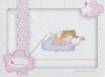 Спален комплект за бебешка количка - Princesa - От 3 части -