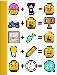 Ученическа тетрадка - LEGO Iconic Широки редове - играчка
