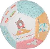 """Мека топка - Мечта - Бебешка играчка от серията """"Les Jolis Trop Beaux"""" -"""