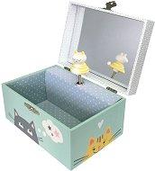 Музикална кутия - Коте - С фосфоресциращи елементи - детски аксесоар