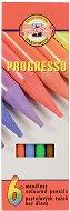 Цветни моливи с лаково покритие - Комплект от 6, 12 или 24 цвята
