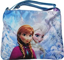 """Чанта за рамо - Елза и Анна - От серията """"Замръзналото кралство"""" - образователен комплект"""