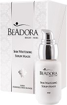 Beadora Bright Pearl Skin Whitening Serum Maxx - Избелващ серум за лице с витамин C - крем