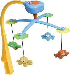 Музикална въртележка - Животни - Играчка за бебешко креватче -