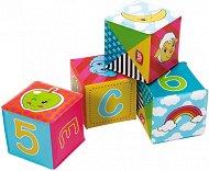 Меки кубчета - Първи знания - Комплект от 6 броя -