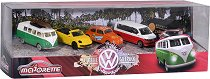 Volkswagen - The Originals - Комплект от 5 метални колички - играчка