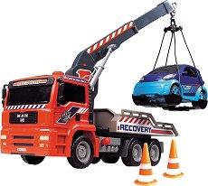 Камион - паяк с количка - Детски комплект за игра - играчка