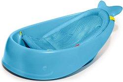 Бебешка вана за къпане с изход за оттичане - Moby Smart - продукт