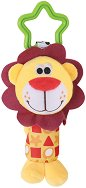 Плюшена дрънкалка - Лъвче - Играчка за детска количка или легло -