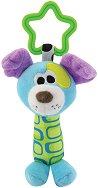 Плюшена дрънкалка - Кученце - Играчка за детска количка или легло - играчка