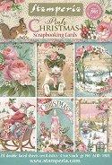Хартии за скрапбукинг - Сладка Коледа - Комплект от 24 листа