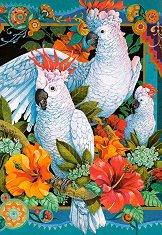 Тропически папагали - Давид Галчут (David Galchutt) - пъзел