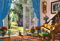Изглед от входната врата - Доминик Дейвисън (Dominic Davison) - пъзел