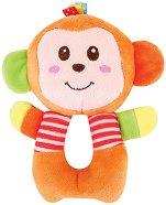 Плюшена дрънкалка - Маймунка - детски аксесоар